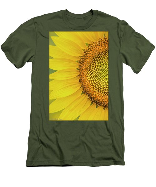 Sunflower Petals Men's T-Shirt (Athletic Fit)