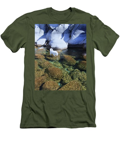Men's T-Shirt (Athletic Fit) featuring the photograph Tahoe Wild  by Sean Sarsfield
