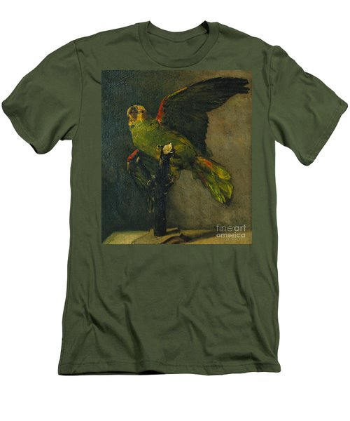 The Green Parrot Men's T-Shirt (Athletic Fit)