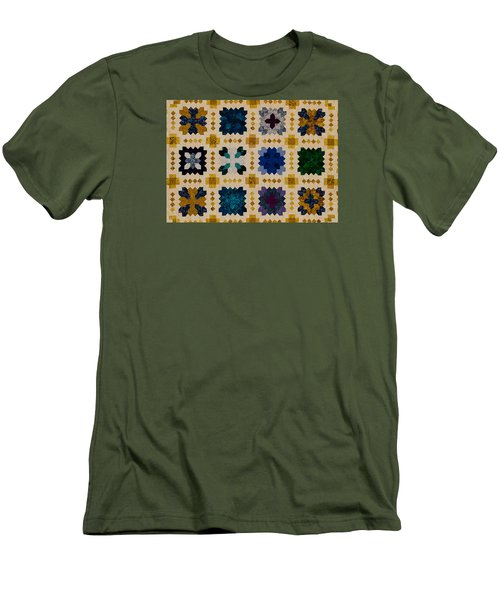 The Patchwork Of The Crosses Men's T-Shirt (Athletic Fit)