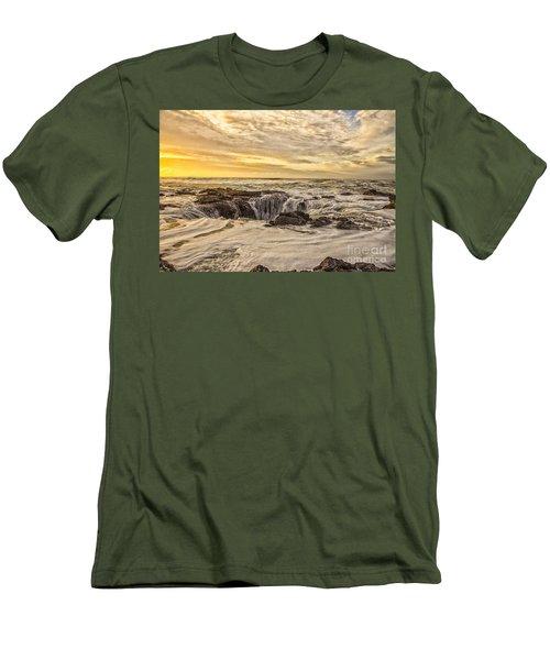 Thor's Well Men's T-Shirt (Slim Fit) by Billie-Jo Miller