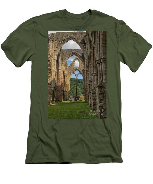 Tintern Abbey Men's T-Shirt (Athletic Fit)