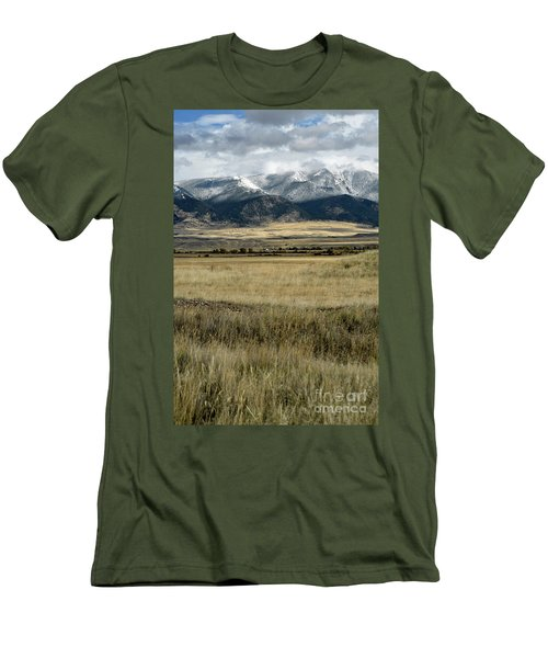 Tobacco Root Mountains Men's T-Shirt (Slim Fit) by Cindy Murphy - NightVisions