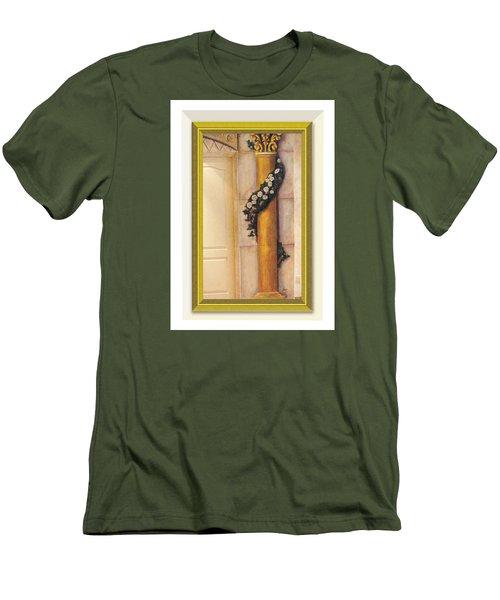 Trompe L'oeil Column Men's T-Shirt (Athletic Fit)