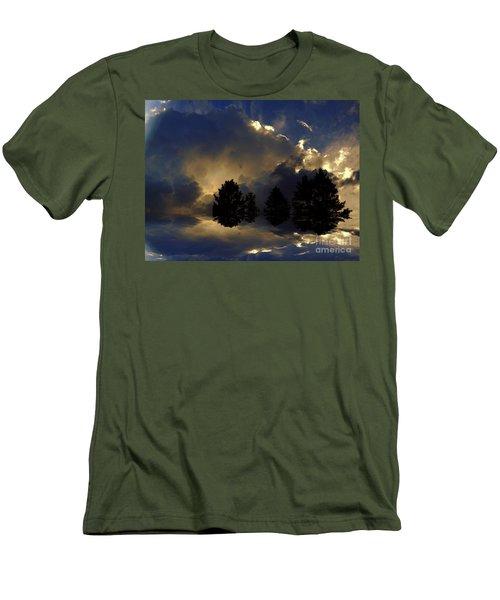 Tumultuous Men's T-Shirt (Slim Fit) by Elfriede Fulda