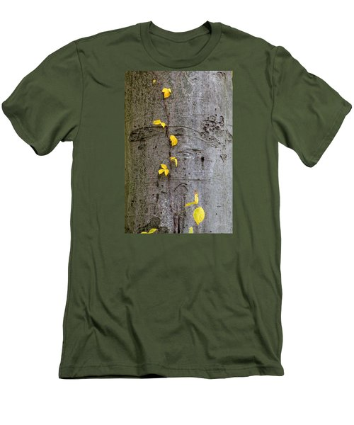 Vine Climber Men's T-Shirt (Slim Fit) by Deborah  Crew-Johnson