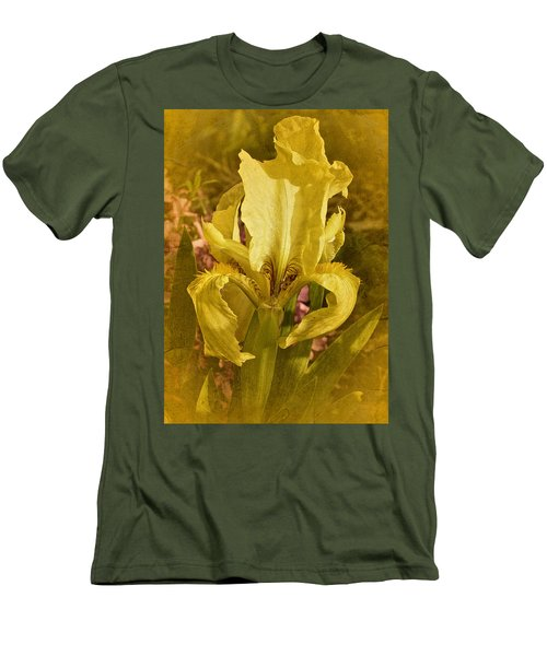 Vintage Dwarf Iris No. 2 Men's T-Shirt (Slim Fit) by Richard Cummings