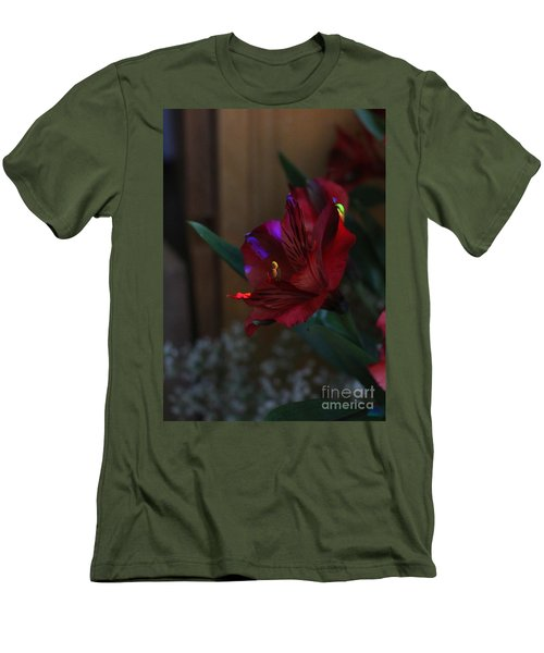 Men's T-Shirt (Athletic Fit) featuring the photograph Waiting For You by Marie Neder
