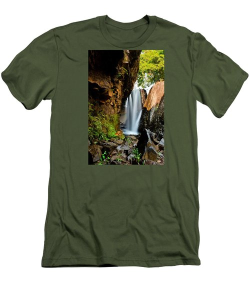 Waterfall Men's T-Shirt (Athletic Fit)