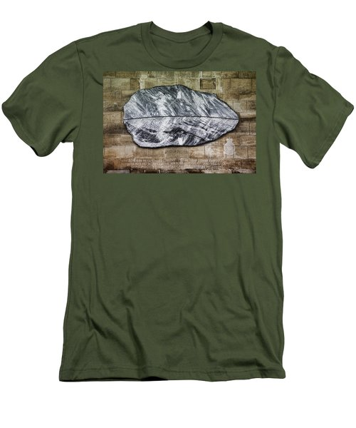 Westminster Military Memorial Men's T-Shirt (Slim Fit) by Stephen Stookey