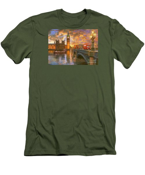 Westminster Sunset Men's T-Shirt (Athletic Fit)