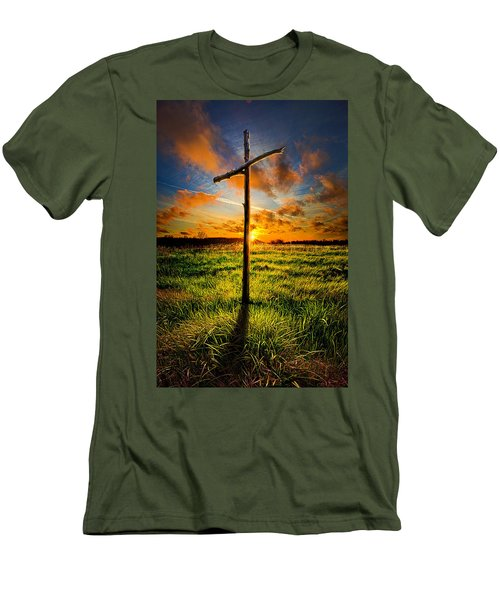 What Will Be Will Be Men's T-Shirt (Slim Fit) by Phil Koch