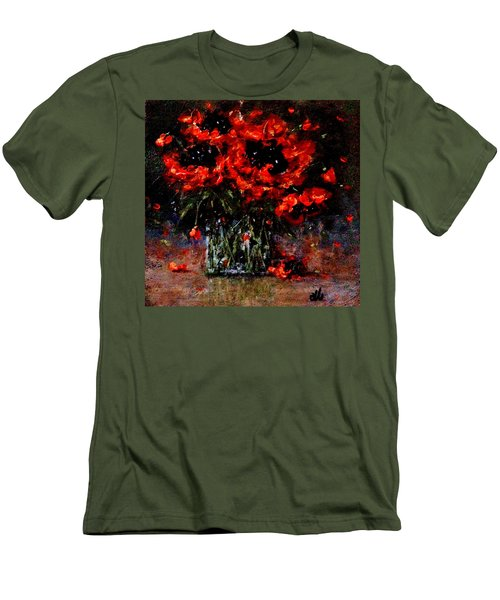 Whispers Of Love  Men's T-Shirt (Slim Fit) by Cristina Mihailescu