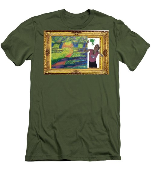 Cover Art For Gallery Men's T-Shirt (Athletic Fit)