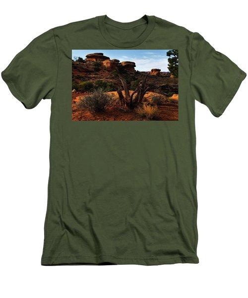 Canyonlands National Park Utah Men's T-Shirt (Athletic Fit)
