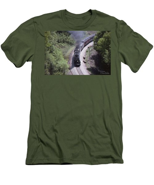 1218 Near Old Fort Men's T-Shirt (Athletic Fit)
