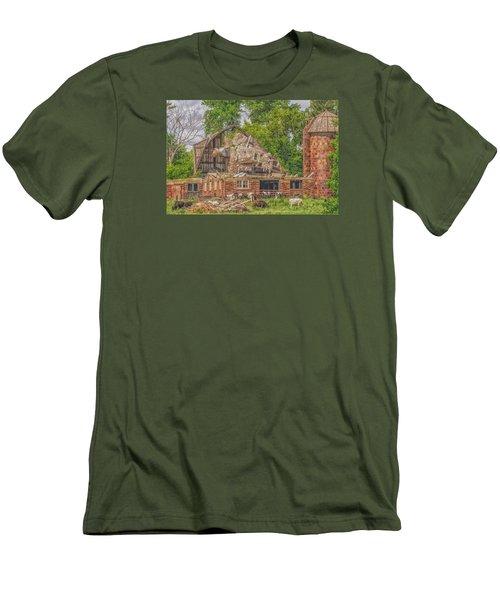 Barn Men's T-Shirt (Slim Fit) by Dan Traun
