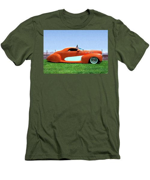 1939 Lincoln Zephyr Coupe Men's T-Shirt (Athletic Fit)
