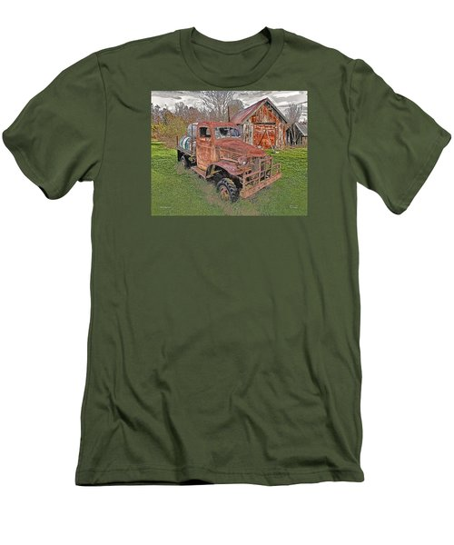 1941 Dodge Truck #2 Men's T-Shirt (Slim Fit) by Mark Allen