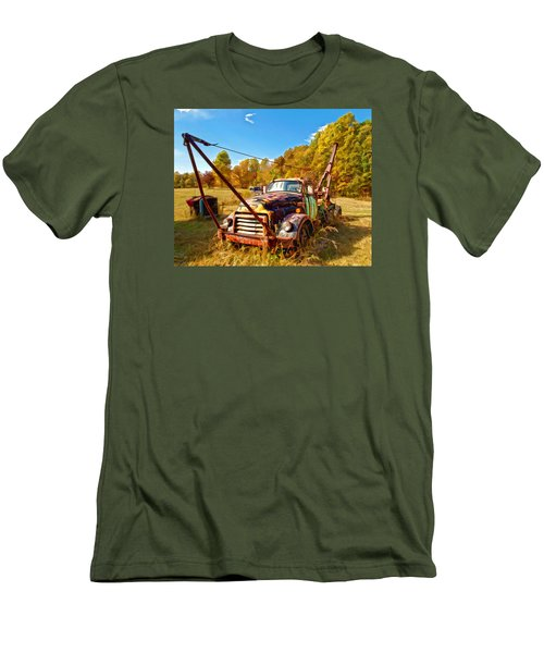 1950 Gmc Truck Men's T-Shirt (Slim Fit)