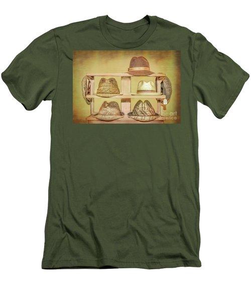1950s Hats Men's T-Shirt (Slim Fit) by Marion Johnson