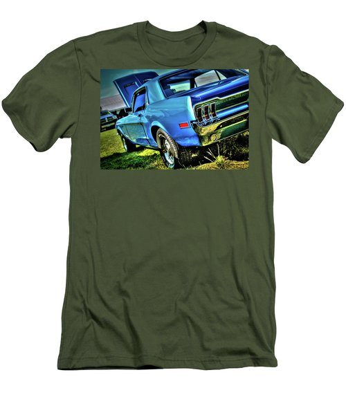 1968 Ford Mustang Men's T-Shirt (Athletic Fit)