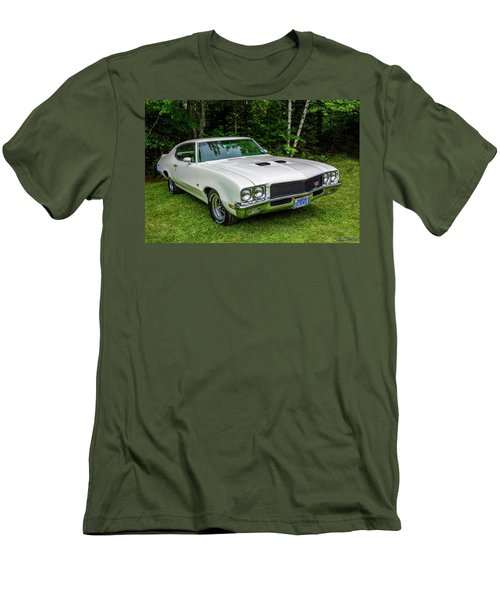 1971 Buick Skylark Gs Men's T-Shirt (Slim Fit) by Ken Morris