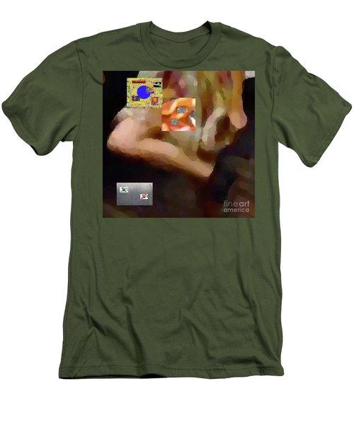 2-2-2-57m Men's T-Shirt (Athletic Fit)