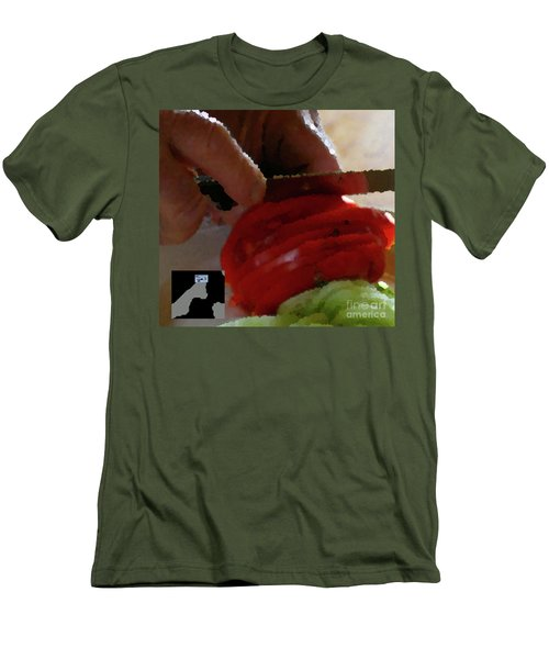 2-4-2057o Men's T-Shirt (Athletic Fit)