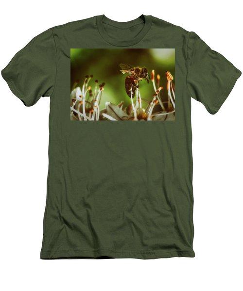 Men's T-Shirt (Slim Fit) featuring the photograph Bzzz by Michael Siebert