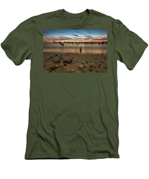 Men's T-Shirt (Athletic Fit) featuring the photograph Cape Charles by Kevin Blackburn