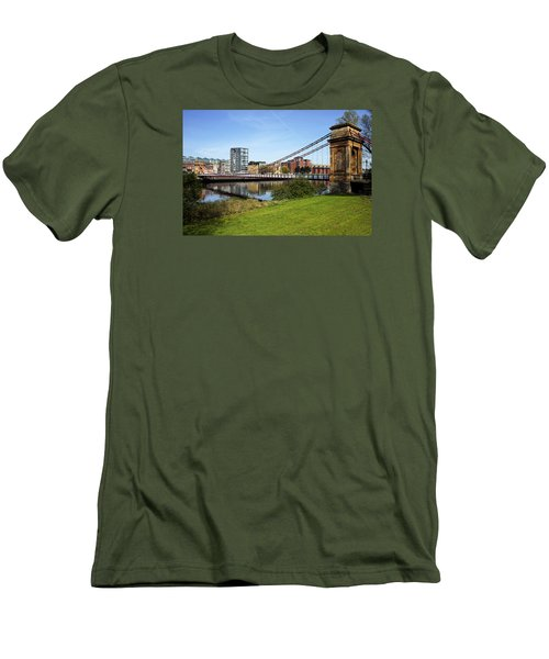 Men's T-Shirt (Slim Fit) featuring the photograph Glasgow by Jeremy Lavender Photography