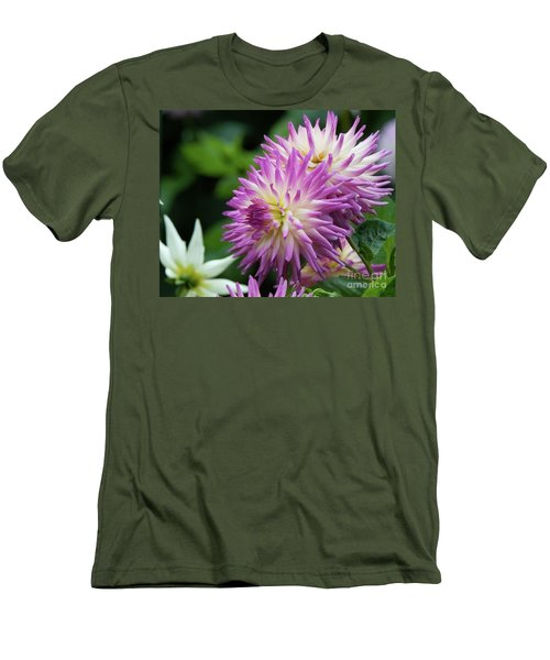 Golden Gate Park Dahlia Men's T-Shirt (Athletic Fit)
