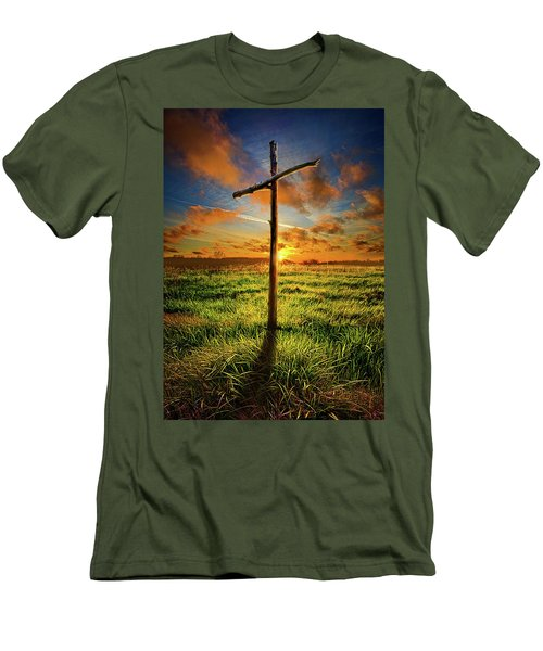 Men's T-Shirt (Slim Fit) featuring the photograph Good Friday by Phil Koch