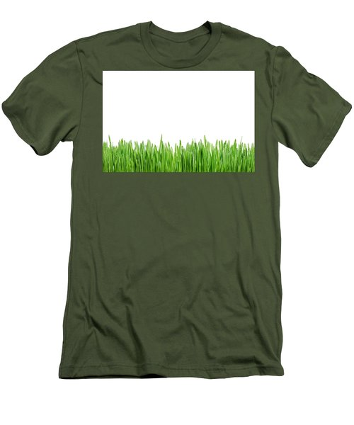Green Grass Men's T-Shirt (Athletic Fit)