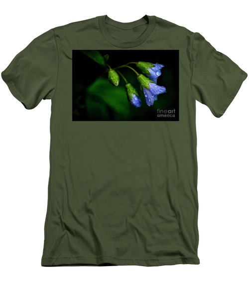 Men's T-Shirt (Slim Fit) featuring the photograph Jacobs Ladder by Thomas R Fletcher