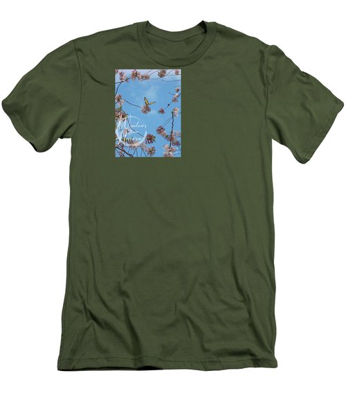 New Beginnings  Men's T-Shirt (Athletic Fit)