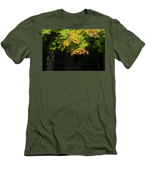 October Colors Men's T-Shirt (Athletic Fit)