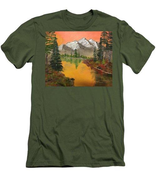 Pine Lake Men's T-Shirt (Athletic Fit)