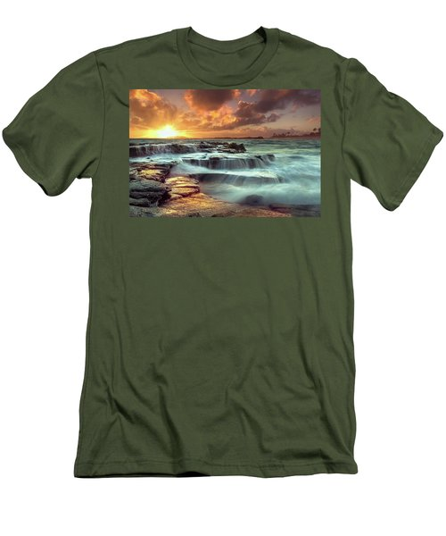 The Golden Hour Men's T-Shirt (Slim Fit) by James Roemmling