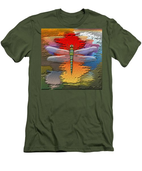 The Legend Of Emperor Dragonfly Men's T-Shirt (Slim Fit)