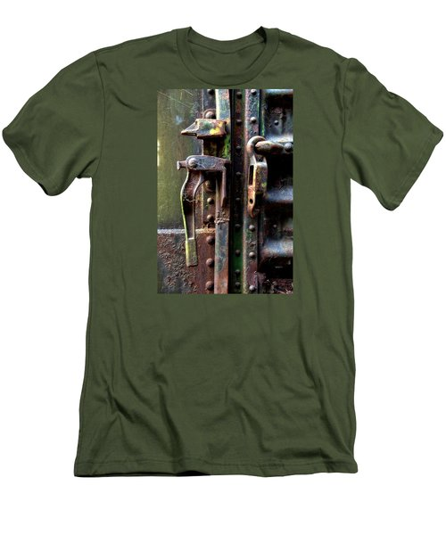 Unhinged Men's T-Shirt (Slim Fit) by Newel Hunter