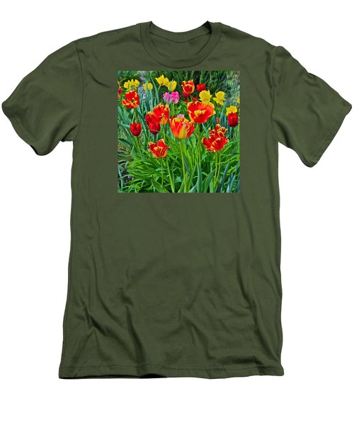 2015 Acewood Tulips 6 Men's T-Shirt (Athletic Fit)