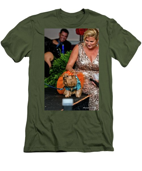 Men's T-Shirt (Slim Fit) featuring the photograph 20160806-dsc04024 by Christopher Holmes