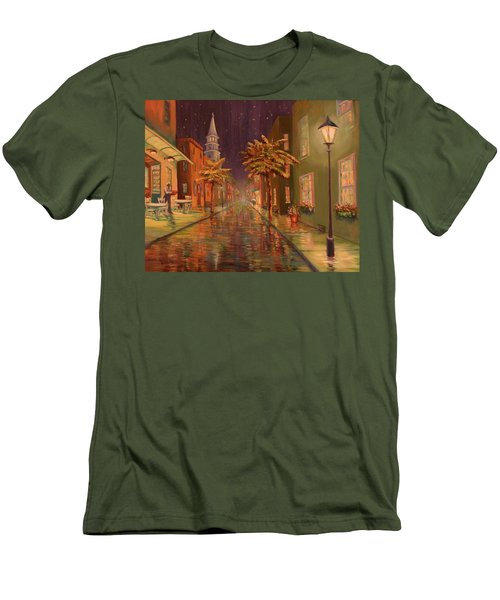 24 Hour Delivery Men's T-Shirt (Athletic Fit)