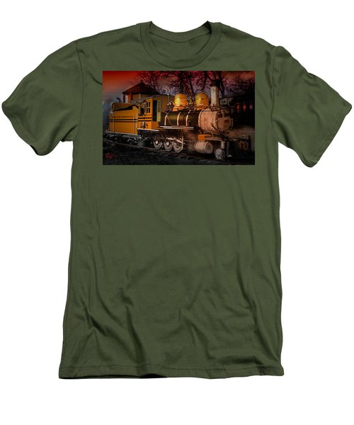 #268 Is Simmering Men's T-Shirt (Athletic Fit)