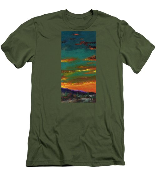 2nd In A Triptych Men's T-Shirt (Slim Fit) by Frances Marino