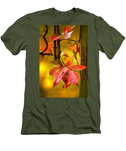 Men's T-Shirt (Slim Fit) featuring the photograph Fall Colors by Eduard Moldoveanu