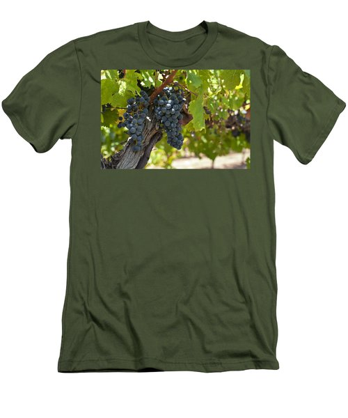 Men's T-Shirt (Slim Fit) featuring the photograph Red Vines by Ulrich Schade