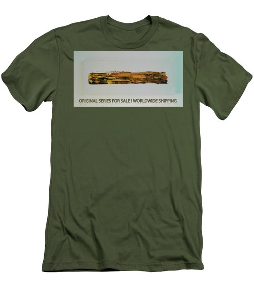 Series Abstract Worlds Only Originals For Sale Worldwide Shipping Men's T-Shirt (Athletic Fit)